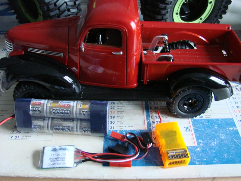 [Losi Micro Crawler] Chevrolet Pick-up 1946 1/19  087