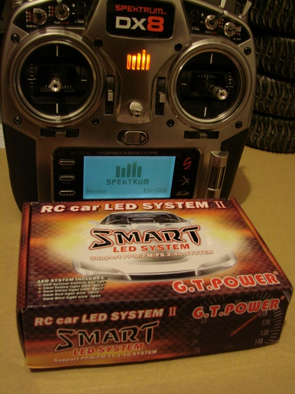 Radio Spectrum DX8 - Quelques astuces et reglages de base.  01