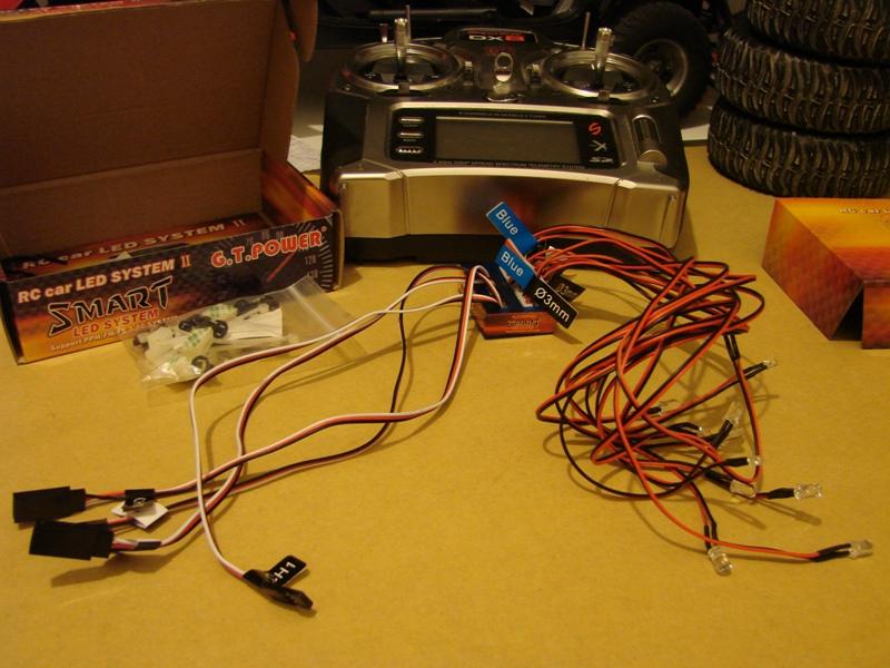Radio Spectrum DX8 - Quelques astuces et reglages de base.  02