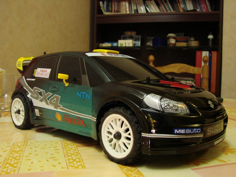 [Kyosho kyosho EP pure ten ] Ma drifteuse 1/10 German Touch 12