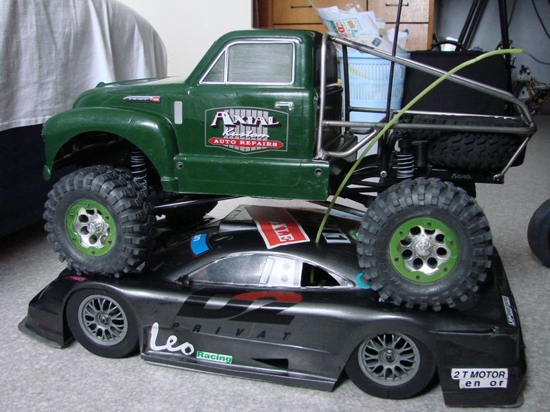 Shaft Avioracing 1/10 Voiture Thermique Rally : Ma première thermique 24