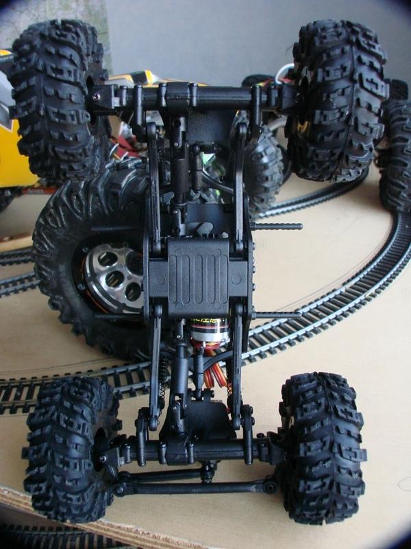 [RC Trax Mini Qlo] Simca Matra Rancho 1/13 sur mécanique MiniQlo 005