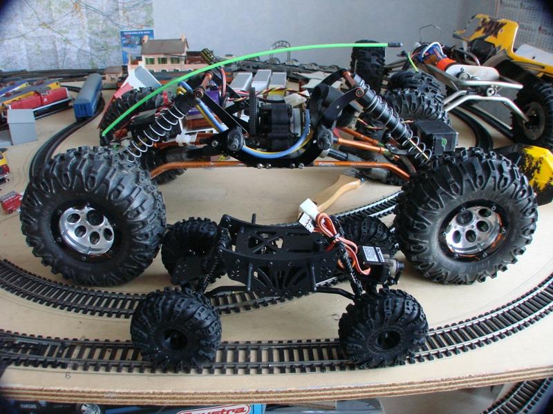 [RC Trax Mini Qlo] Simca Matra Rancho 1/13 sur mécanique MiniQlo 008