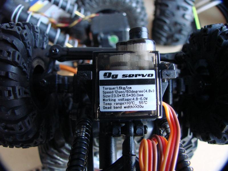 [RC Trax Mini Qlo] Simca Matra Rancho 1/13 sur mécanique MiniQlo 009