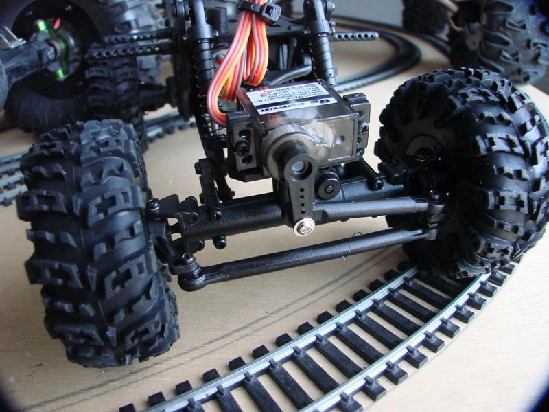 [RC Trax Mini Qlo] Simca Matra Rancho 1/13 sur mécanique MiniQlo 012