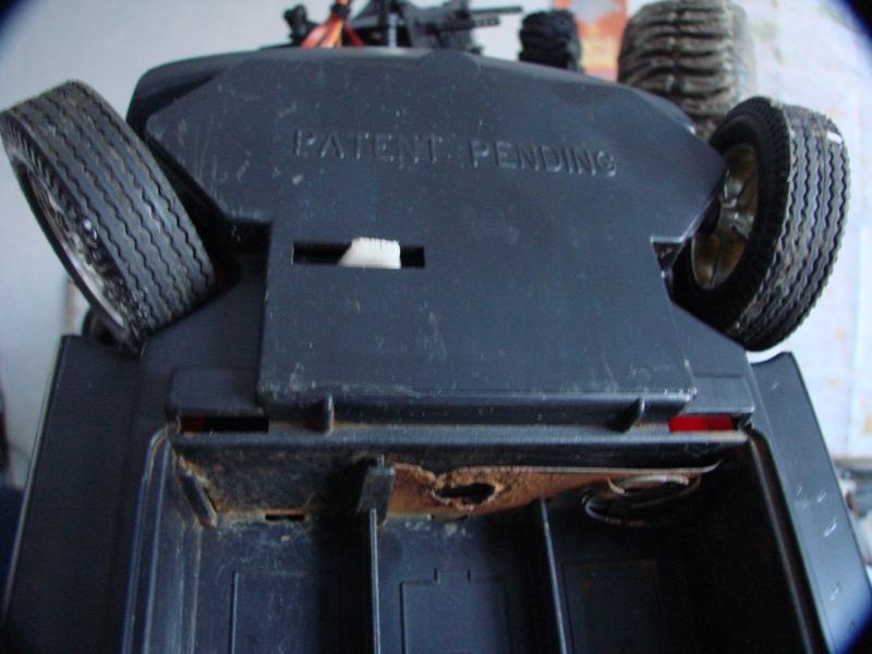 [RC Trax Mini Qlo] Simca Matra Rancho 1/13 sur mécanique MiniQlo 019