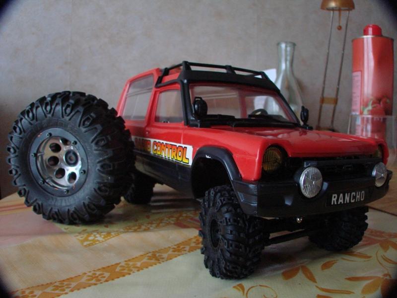 [RC Trax Mini Qlo] Simca Matra Rancho 1/13 sur mécanique MiniQlo 020