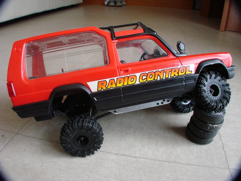 [RC Trax Mini Qlo] Simca Matra Rancho 1/13 sur mécanique MiniQlo 021