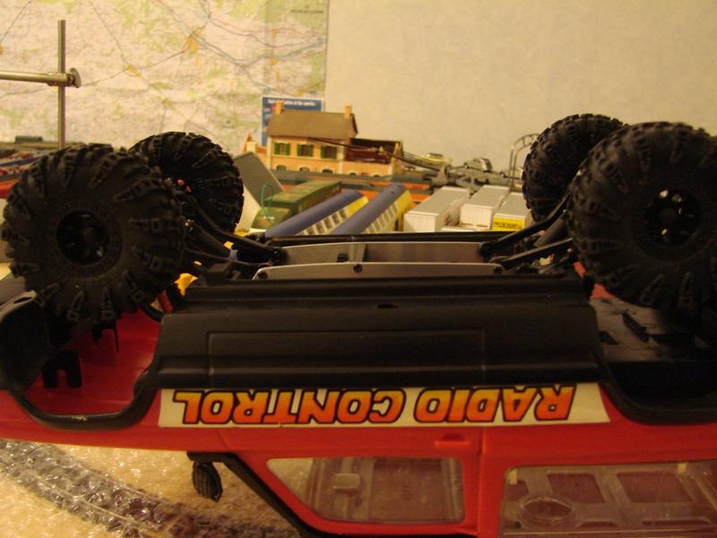 [RC Trax Mini Qlo] Simca Matra Rancho 1/13 sur mécanique MiniQlo 026