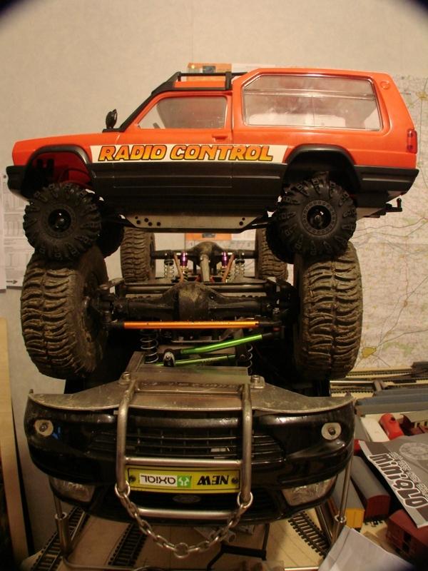[RC Trax Mini Qlo] Simca Matra Rancho 1/13 sur mécanique MiniQlo 028