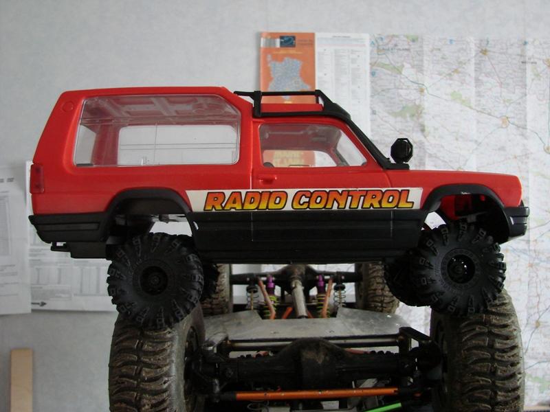 [RC Trax Mini Qlo] Simca Matra Rancho 1/13 sur mécanique MiniQlo 029