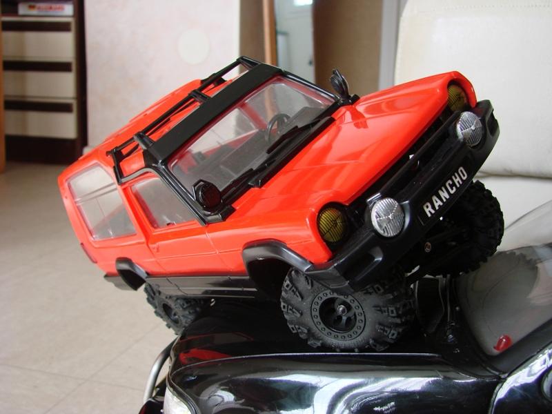 [RC Trax Mini Qlo] Simca Matra Rancho 1/13 sur mécanique MiniQlo 030