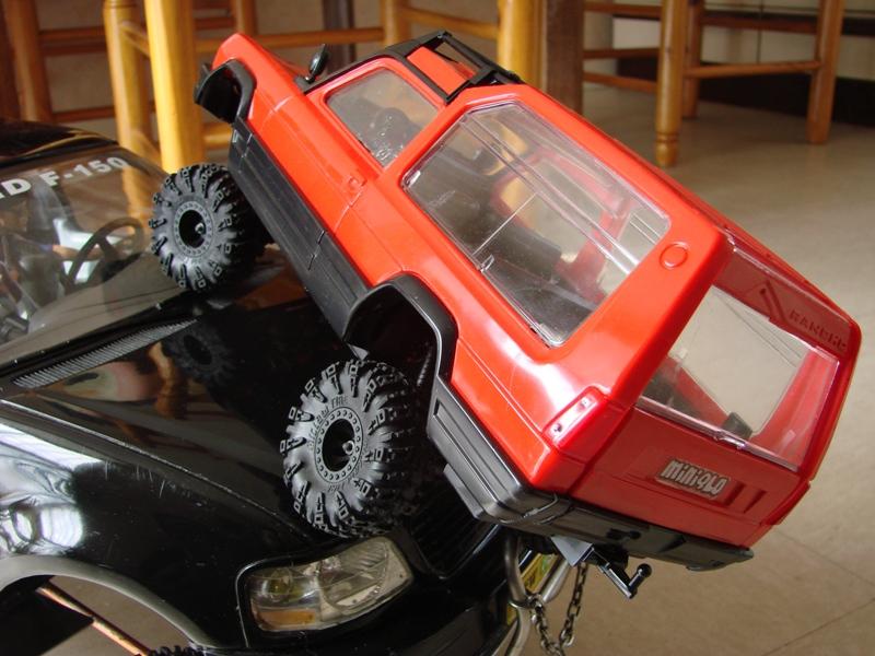 [RC Trax Mini Qlo] Simca Matra Rancho 1/13 sur mécanique MiniQlo 031