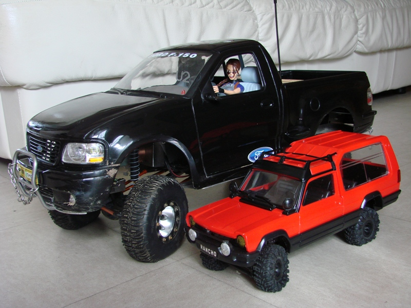 [RC Trax Mini Qlo] Simca Matra Rancho 1/13 sur mécanique MiniQlo 032