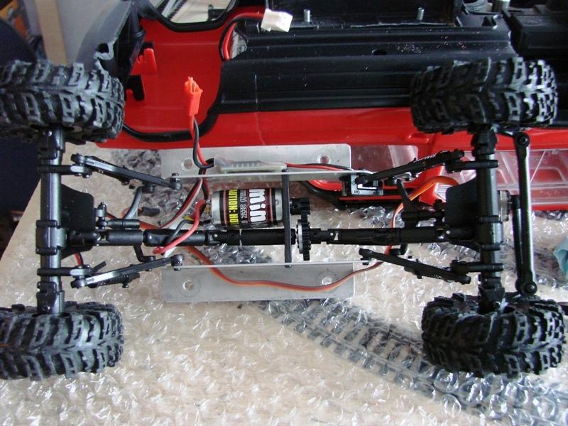 [RC Trax Mini Qlo] Simca Matra Rancho 1/13 sur mécanique MiniQlo 044