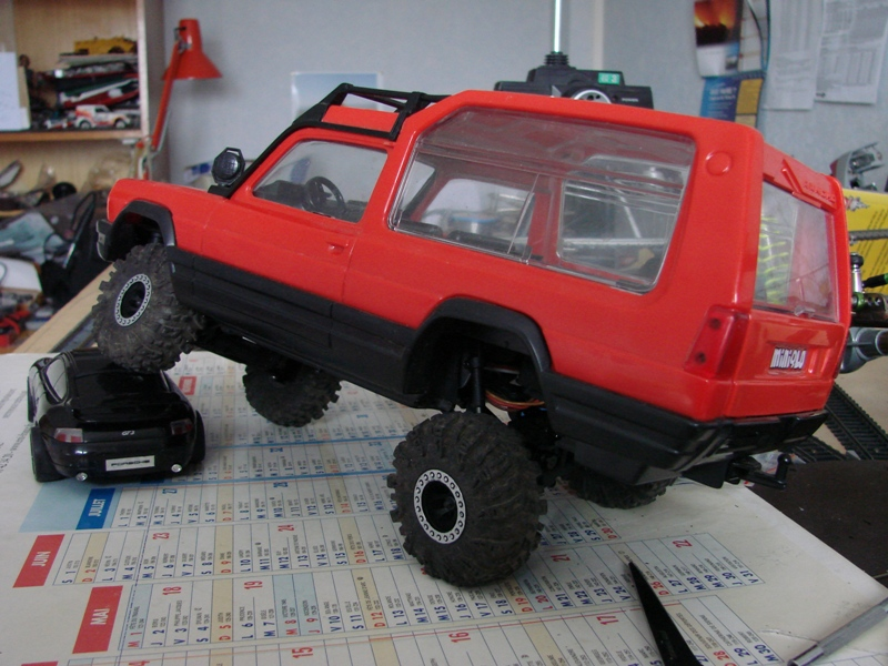 [RC Trax Mini Qlo] Simca Matra Rancho 1/13 sur mécanique MiniQlo 056