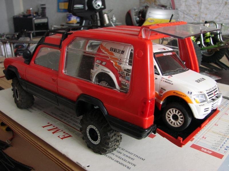 [RC Trax Mini Qlo] Simca Matra Rancho 1/13 sur mécanique MiniQlo 058
