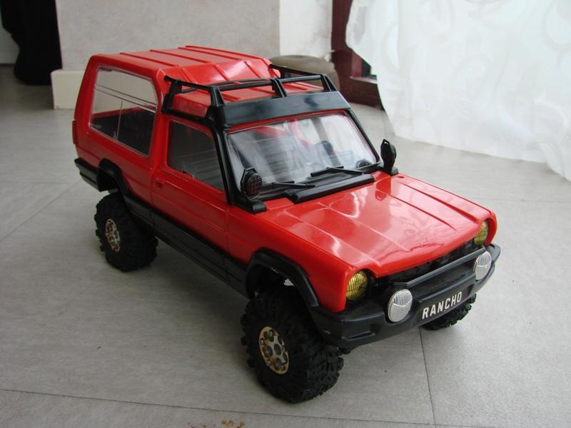 [RC Trax Mini Qlo] Simca Matra Rancho 1/13 sur mécanique MiniQlo 060