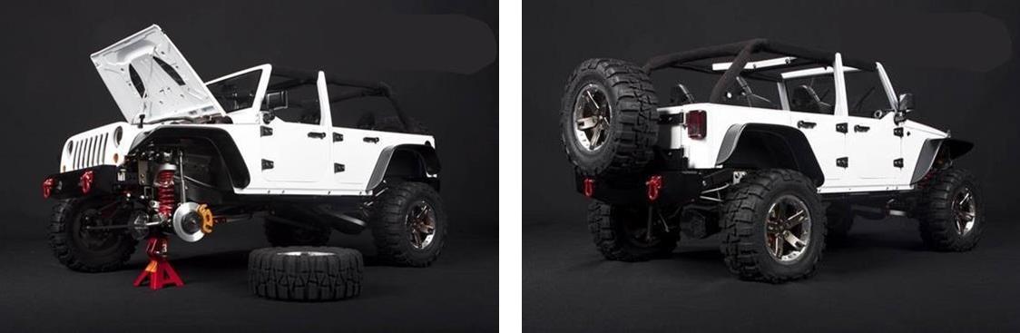 La vrais échele de nos scales. Capo-Jeep
