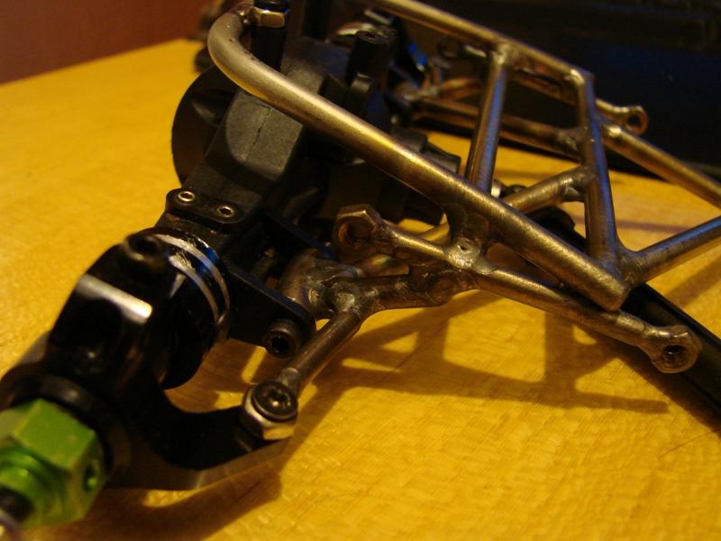 Chargeur a pneus - Jouet tôle Rico - verrin mécanique 020