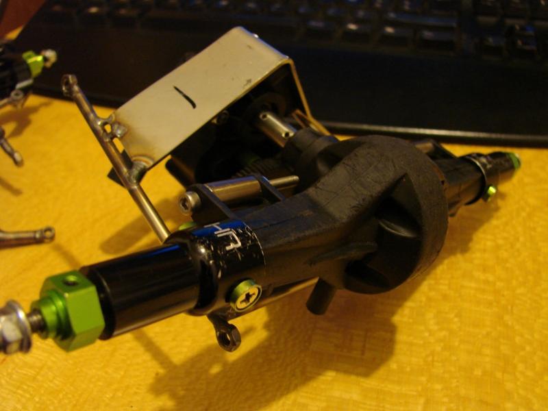 Chargeur a pneus - Jouet tôle Rico - verrin mécanique 023