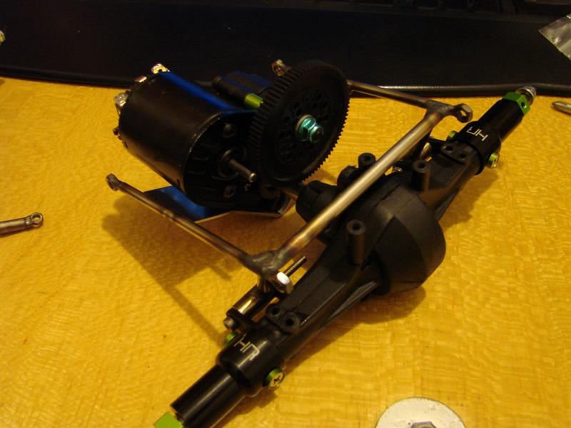 Chargeur a pneus - Jouet tôle Rico - verrin mécanique 024
