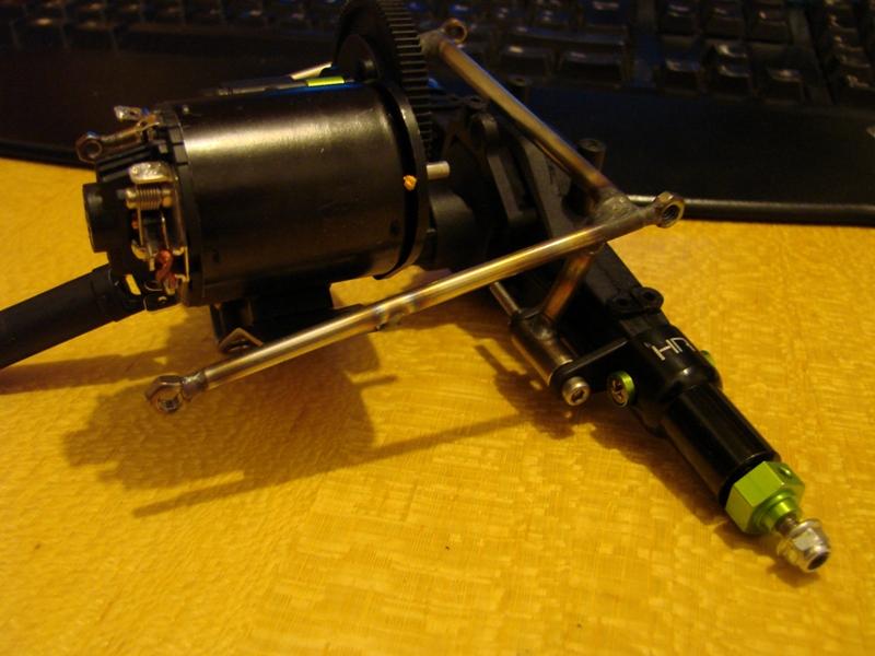 Chargeur a pneus - Jouet tôle Rico - verrin mécanique 025