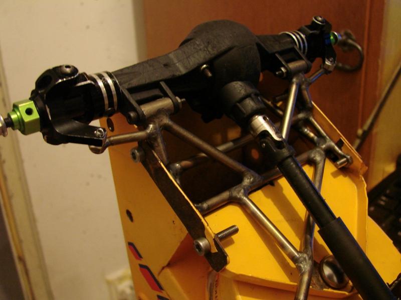 Chargeur a pneus - Jouet tôle Rico - verrin mécanique 026