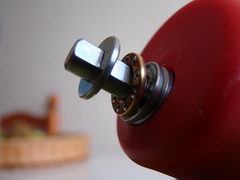 Chargeur a pneus - Jouet tôle Rico - verrin mécanique 059