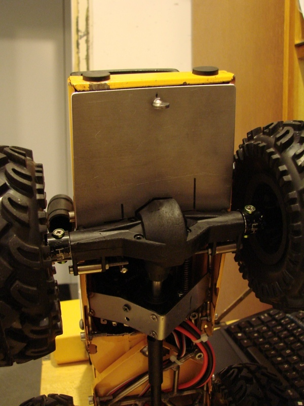 [SCX 10] Chargeur a pneus - Rico 080