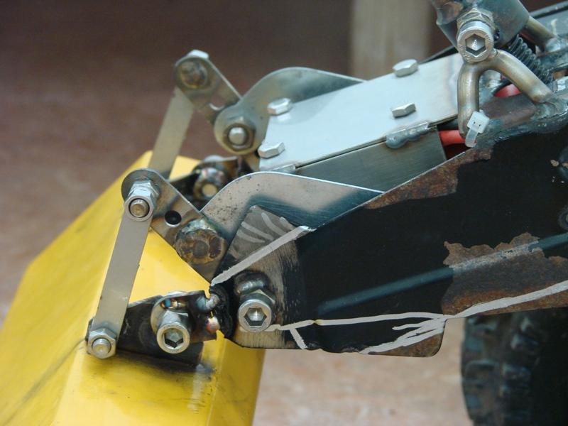 [SCX 10] Chargeur a pneus - Rico 092