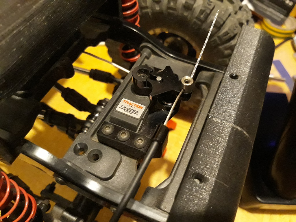 Astuces et reglages du Traction Hobby Cragsman et de sa radiocommande 126