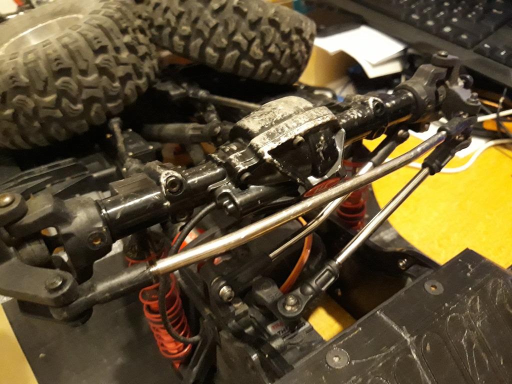Astuces et reglages du Traction Hobby Cragsman et de sa radiocommande 128