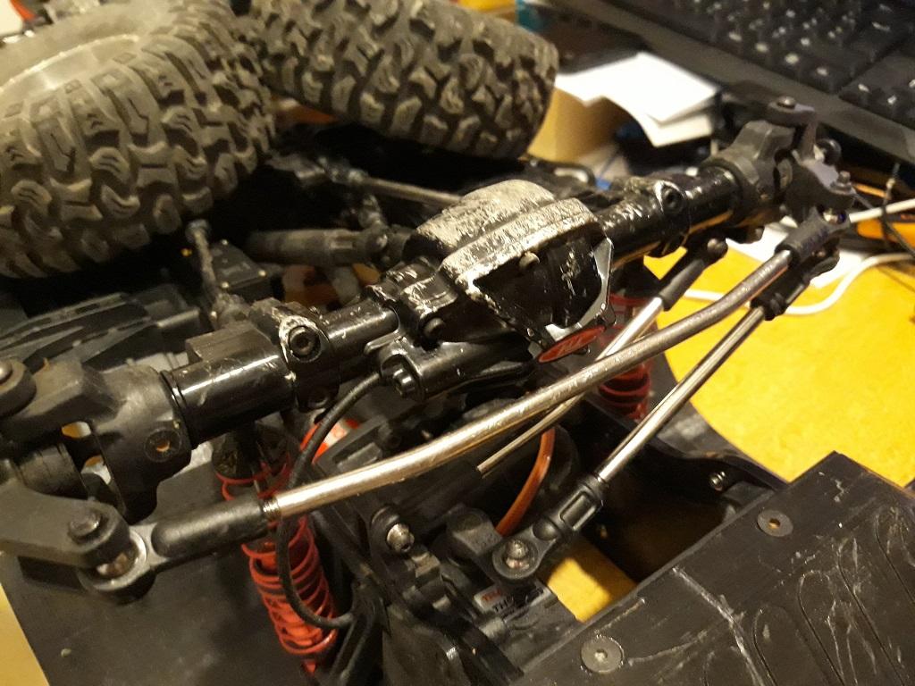 Astuces et reglages du Traction Hobby Cragsman et de sa radiocommande 129