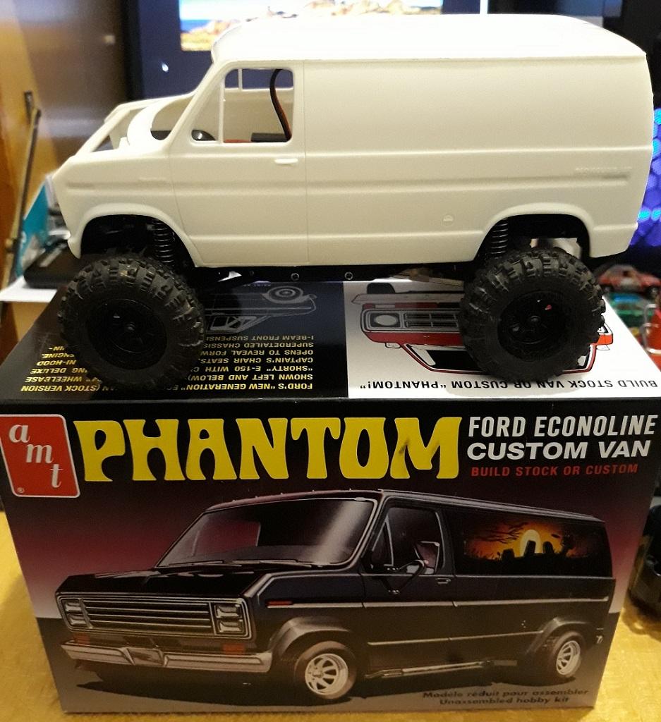 [micro ftx 1/24] Ford Econoline custom 1/25 18