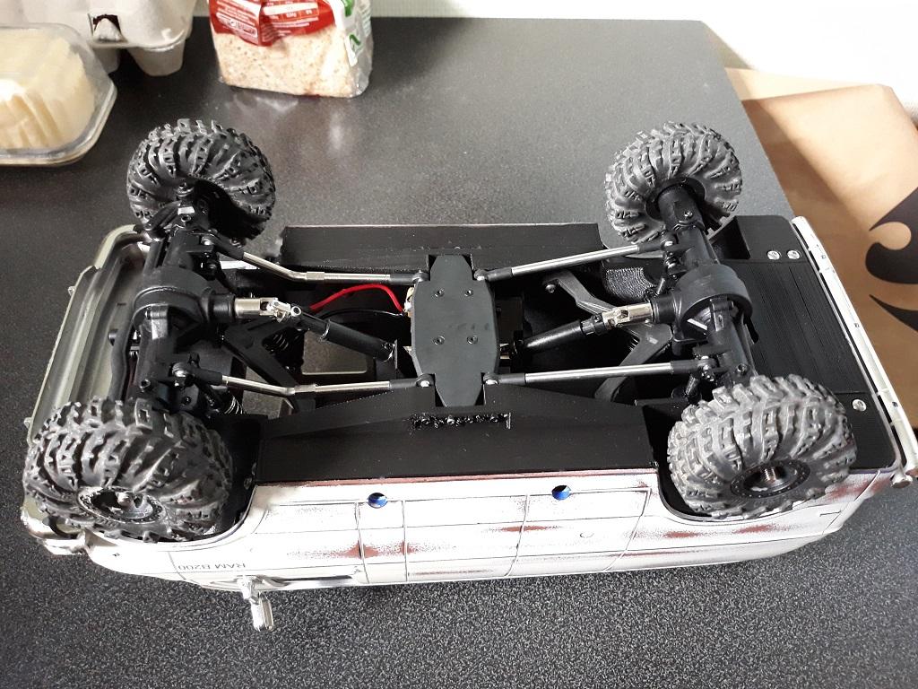 [vaterra Slickrock] Dodge Ram Lunch Box Tamiya 1/14 06