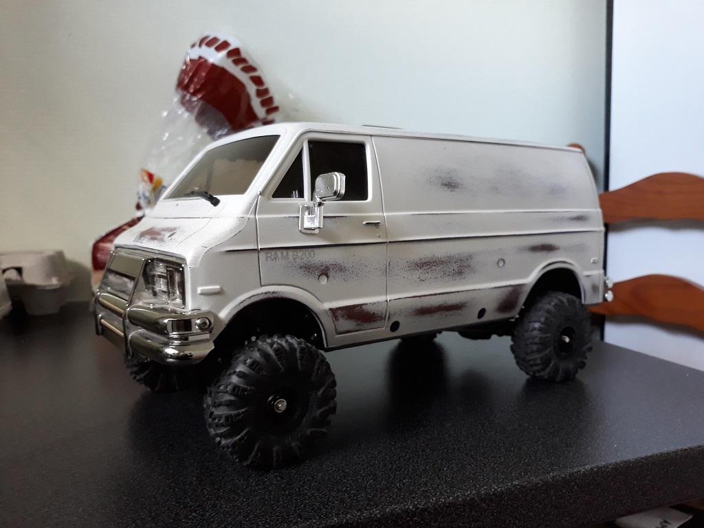 [vaterra Slickrock] Dodge Ram Lunch Box Tamiya 1/14 07