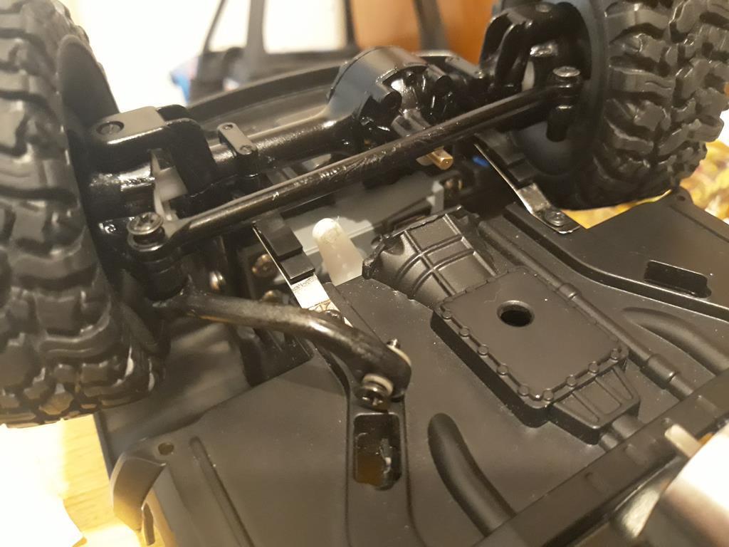 [WPL] Dodge Ram 2500 Heavy Duty Bruder 1/14 sur base WPL WPLB1 49