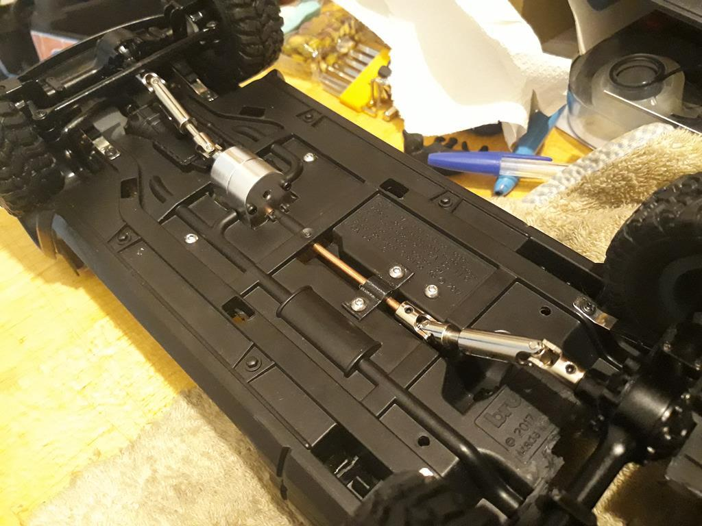 [WPL] Dodge Ram 2500 Heavy Duty Bruder 1/14 sur base WPL WPLB1 55