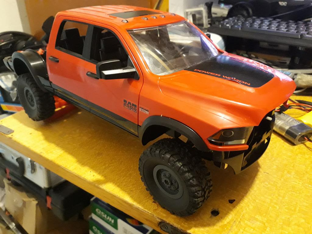 [WPL] Dodge Ram 2500 Heavy Duty Bruder 1/14 sur base WPL WPLB1 62