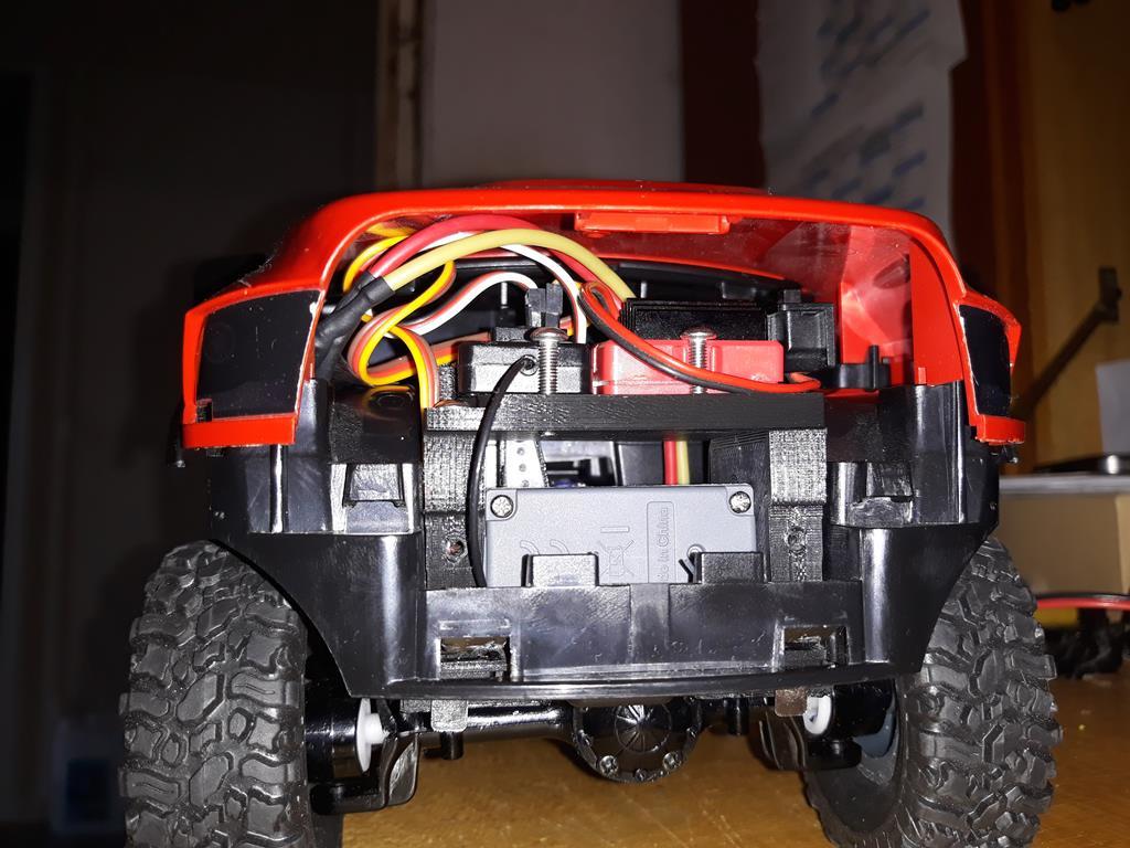 [WPL] Dodge Ram 2500 Heavy Duty Bruder 1/14 sur base WPL WPLB1 63