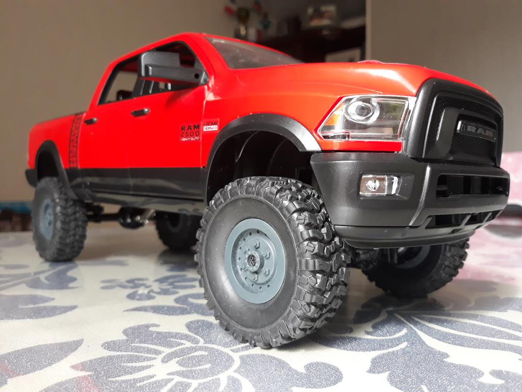 [WPL] Dodge Ram 2500 Heavy Duty Bruder 1/14 sur base WPL WPLB1 66