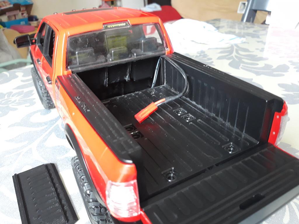 [WPL] Dodge Ram 2500 Heavy Duty Bruder 1/14 sur base WPL WPLB1 72