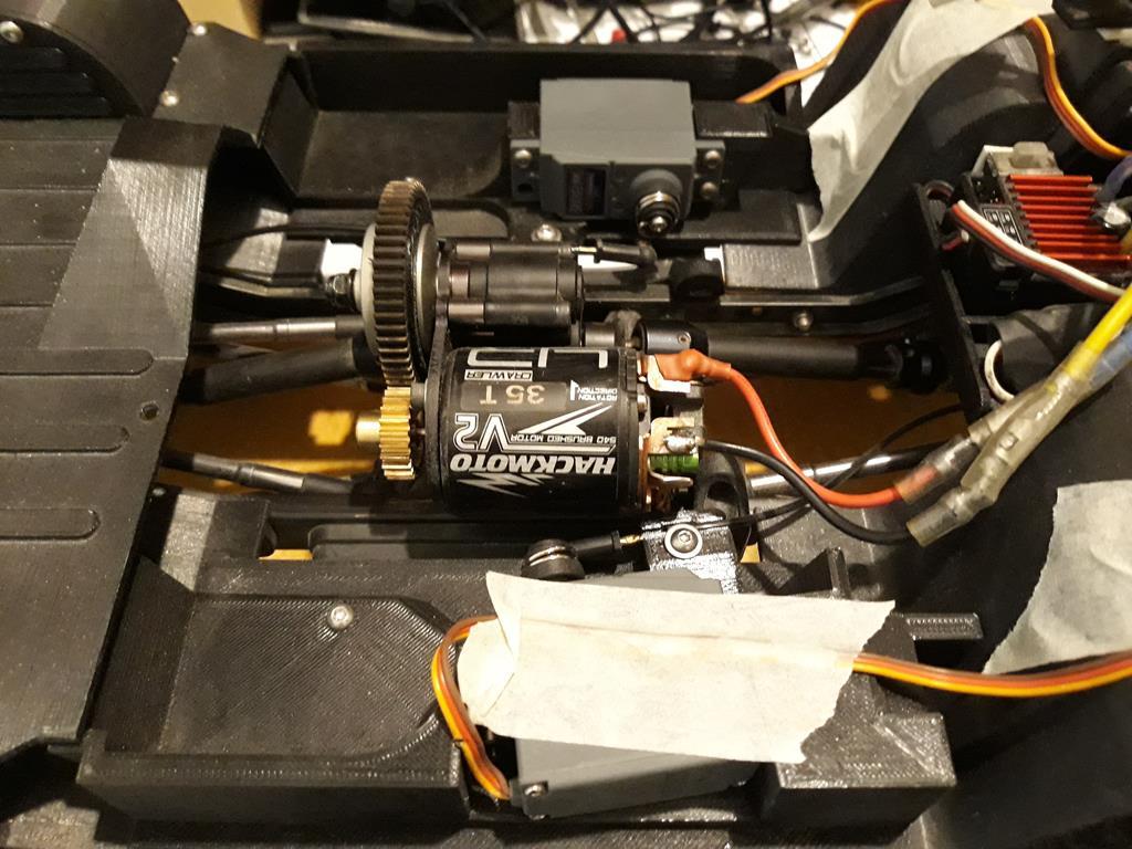 [Vaterra ascender] Mon Chevy Blazer 1/8 + Impression 3D 11