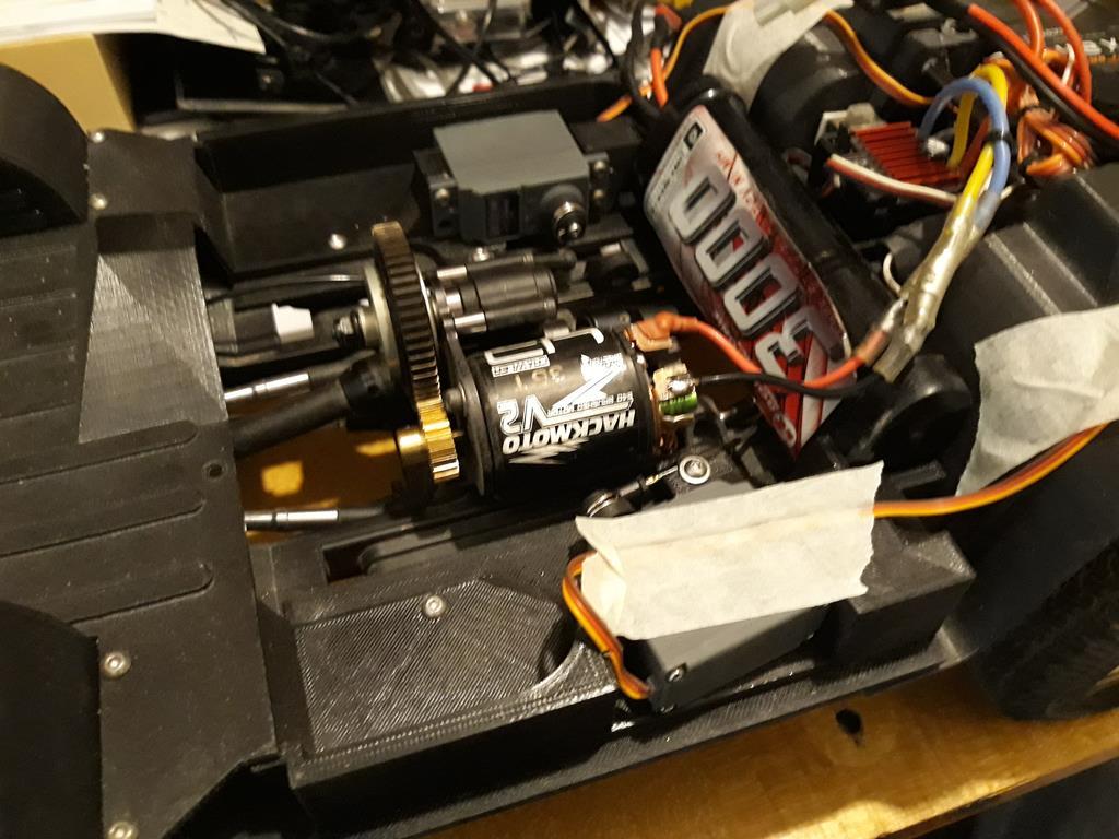 [Vaterra ascender] Mon Chevy Blazer 1/8 + Impression 3D 12