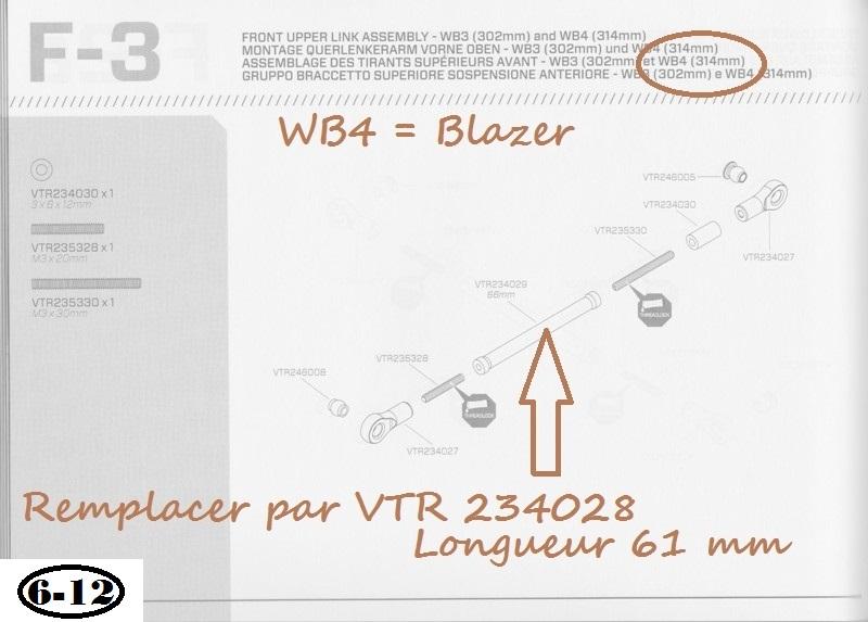 Vaterra Blazer K5 - Astuce et corrections 05