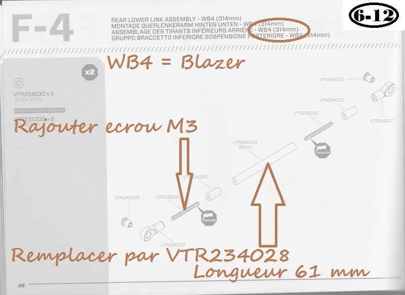 Vaterra Blazer K5 - Astuce et corrections 07