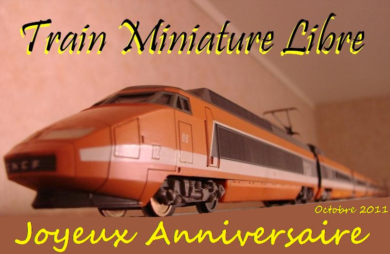 Train Miniature Libre