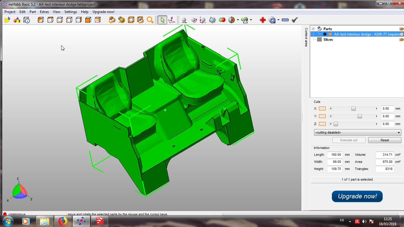Modelisation 3D - Verifier et nettoyer un fichiers STL 12