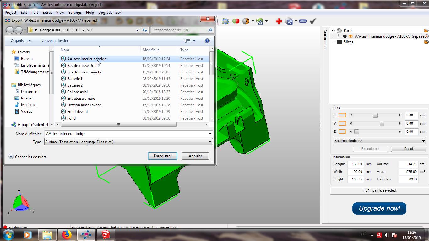 Modelisation 3D - Verifier et nettoyer un fichiers STL 14
